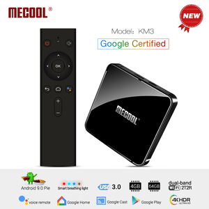 MECOOL KM3 Android 9.0 TV Box