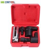 5pcs oxygen sensor wrench Kit Thread Chaser Tool Fit for All Auto O2 Socket Removal Install Offset Vacuum Oxygen Sensor Socket