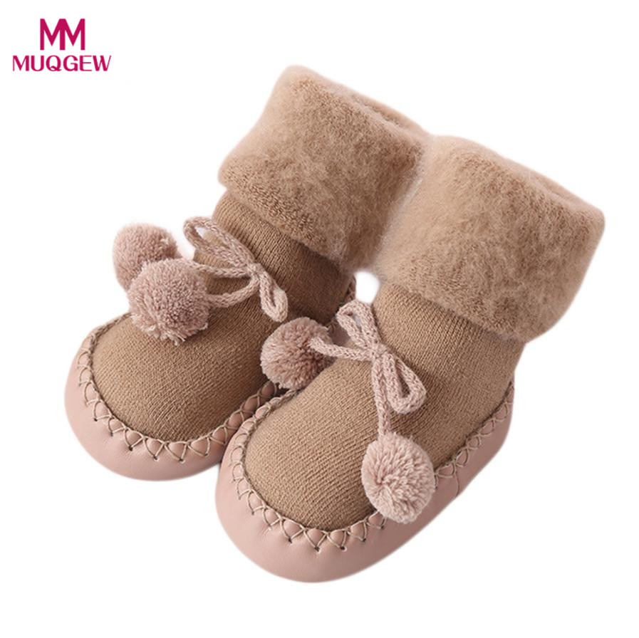 2018 Fashion Baby Socks With Rubber Soles Infant Sock Newborn Autumn ...