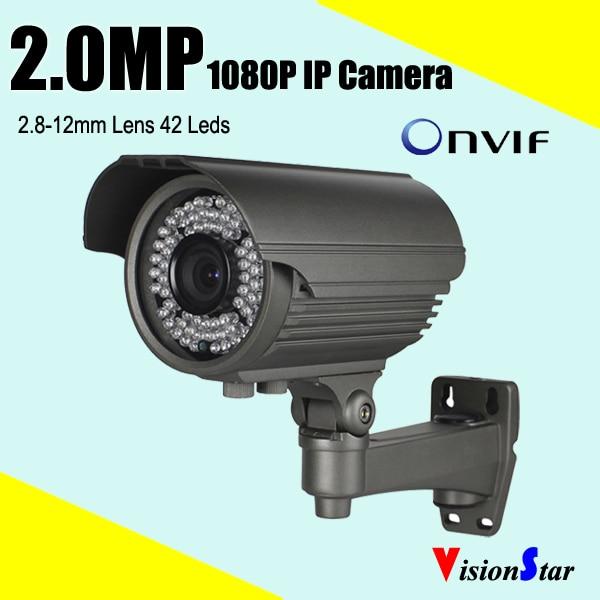 HD CCTV Camera 1080P IP Camera Varifocal Lens IP66 P2P Camera Support Onvif OSD Menu Security Camera top 10 cctv cameras 2mp 1080p hd ip security camera p2p ip network camera varifocal len made in china security camera