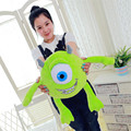 Hight Quality 1 unids 30 cm Mike Monsters University Monster Mike Wazowski, Monsters Inc juguetes de peluche a la venta