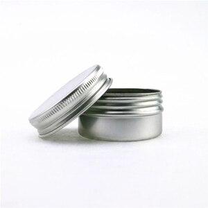 Image 2 - 30 جرام الألومنيوم الجرار 1 أوقية الفضة الألومنيوم جرار للكريم 30 مللي الألومنيوم القصدير الحاويات 30 مللي الألومنيوم علبة من القَصدير
