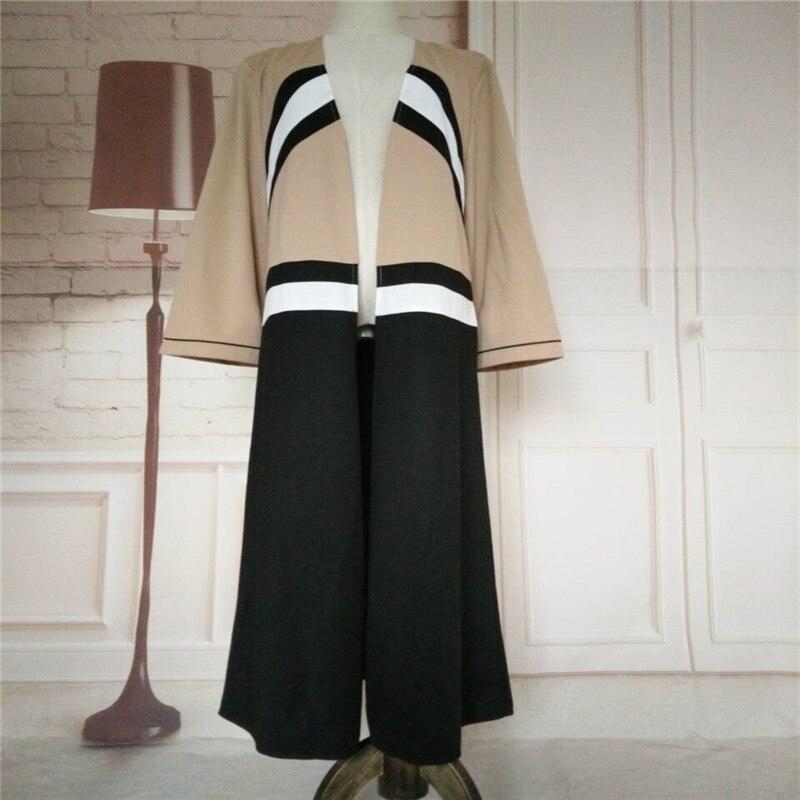 2017 New Fashion Muslim Voksen Cardigan Robe Jilbab Abaya Islamic - Nasjonale klær - Bilde 6