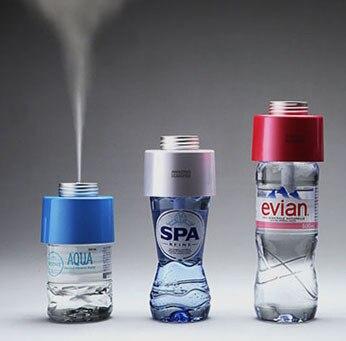 Korean Mini Usb Humidifier Bottle Of Mineral Water Bottles Mute Oils