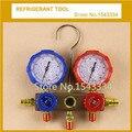 Free shipping Refrigerant Tool R12 R22 R134A R410 Manifold Gauge set