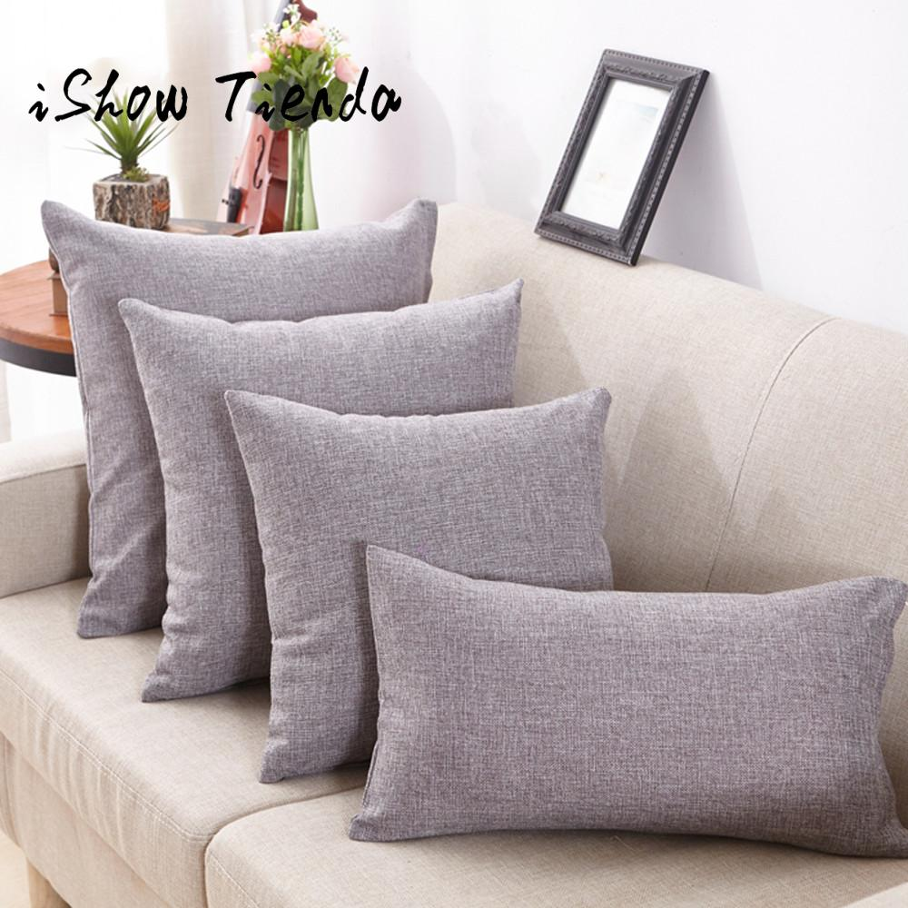 2017 new Rectangle Solid coussin Pillowcase Simple Fashion Throw Pillow Cases Cafe Sofa Cushion Cover Home Decor New Arrival #35