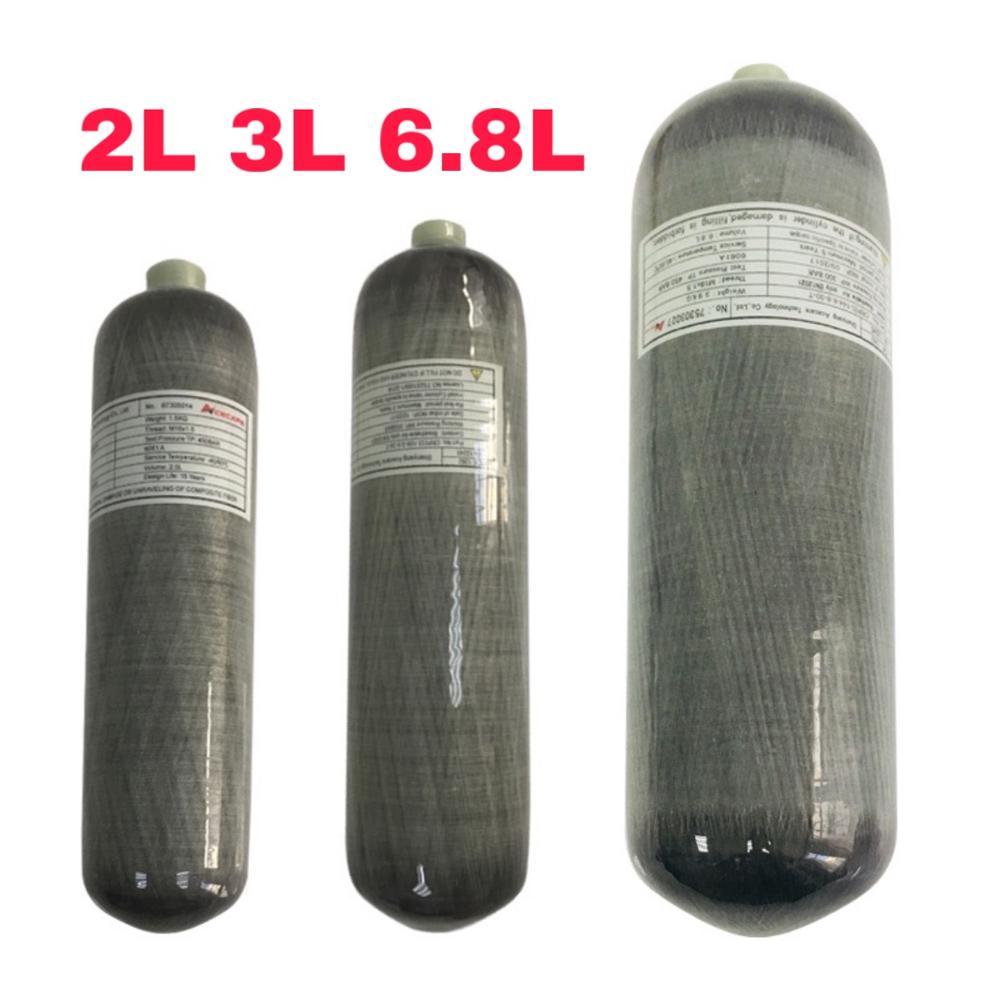 Acecare Scuba Pcp 2L/3L/6.8L CE 4500spi Pcp/Air Paintball Tank Mini Diving Carbon Fiber Cylinder Pcp Air Rifle Airforce Condor