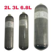Acecare Scuba Pcp 2L/3L/6.8L CE 4500spi Pcp/Air Paintball Tank Mini Tauchen Carbon Faser Zylinder pcp Luftgewehr Airforce Condor