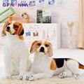 1pc 30/40/50cm simulação brinquedo de pelúcia kawaii ajoelhado deitado animal cão travesseiro de pelúcia brinquedos para crianças presente dos namorados