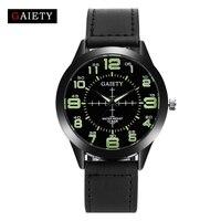 Gaiety Brand Luxury Watch Gold Leather Ladies Quartz Fashion Brand Men Fashion Wristwatch Women Dress Watches Sport Clock G456