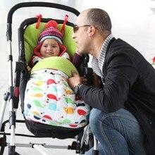2016 New Arrival Kids Sleeping Bags Pillow Baby Winter Sleeping Bag Cart Universal Footmuff Pram Stroller Buggy Car Seat Slider