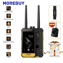 "Nomu T18 IP68 Étanche Smartphone MTK6737T Quad Core 3G RAM 32G ROM Android 7.0 Interphone 4.7 ""HD Mobile Téléphone 5200 mAh NFC 8.0MP"