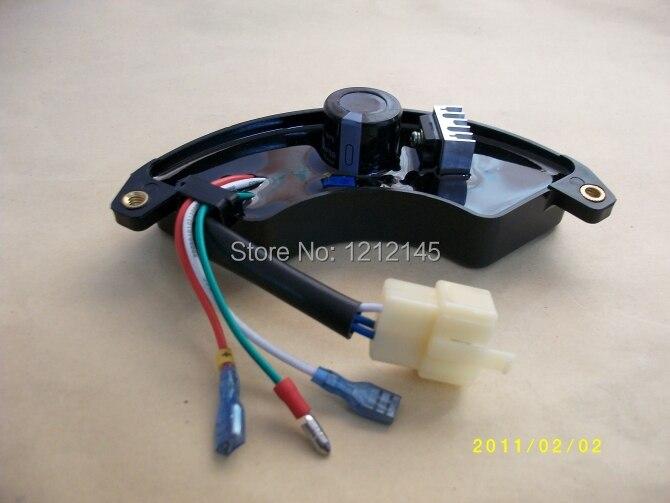 Imc elemax 6 проводов 5kw генератор AVR Автоматический Напряжение регулятор