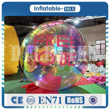 лучшая цена Large Inflatable Mirror Balls Floating Mirror Ball Inflatable Silver Reflective Balloon For Advertising