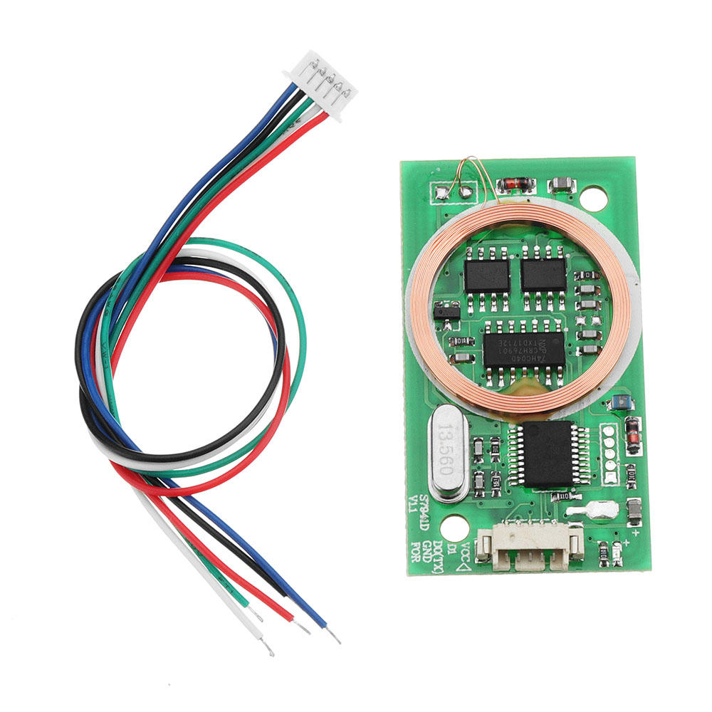 DC 9V To 12V 40mA 7941D Dual Frequency Card Reader Wiegand 26/34 And UART Interface