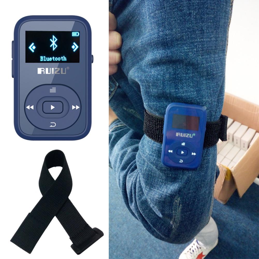 RUIZU X26 Кліп Bluetooth mp3-плеєр 8GB Спорт Bluetooth - Портативні аудіо та відео - фото 4