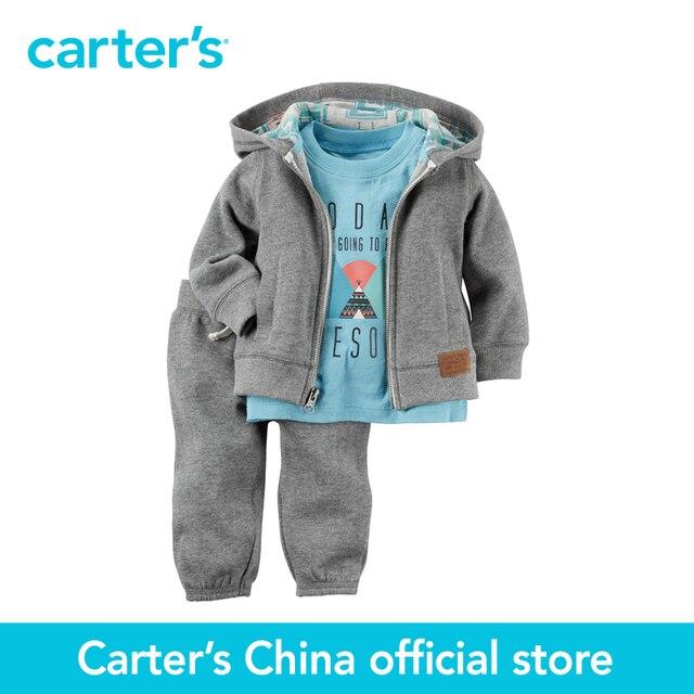 06018bd1a05d Carter s 3 pcs baby children kids Cardigan Set 127G182