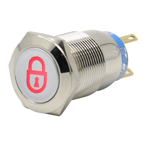 Image 5 - Metal push button switch 16mmm19mmm22mm self lock multiple graphics can be customized total switch 12v 24v 110v 220v usb wifi
