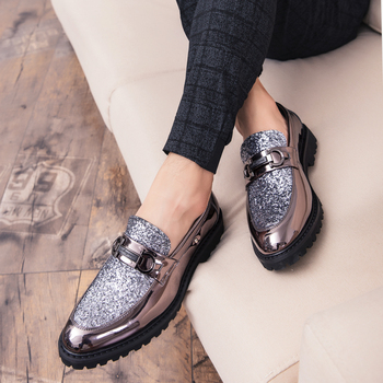 Zapatos De Vestir De Fondo Grueso Para Hombre De Lujo Estilo Italiano De Moda Zapatos Formales P