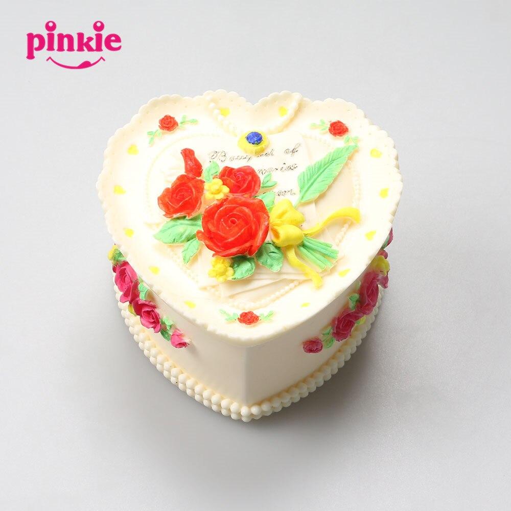 Pinkie moules à la main pas cher belle boîte à bijoux 3D Silicone fleur boîte moules pour faire les boîtes à bijoux et boîtes à bijoux