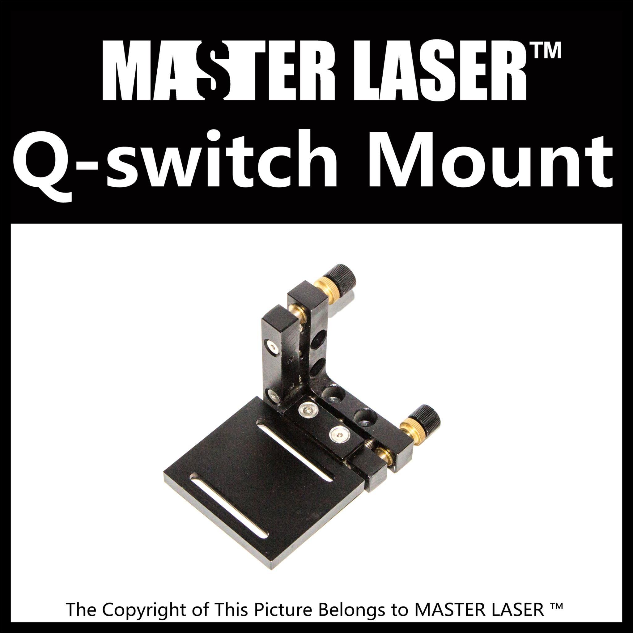 Al Mirror Muont of Fiber Laser Machine Parts for Laser Mark Machine Q-switch Mirror Mount q switch qsgsu 5 q drivr qsd5027 yag laser mark machine 50w parts