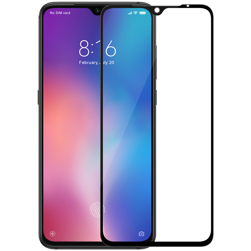 Image 2 - For Xiaomi Mi9 Pro Tempered Glass Nillkin CP+ Max Full Cover Screen Protector For Xiaomi Mi 9 3D Glass-in Phone Screen Protectors from Cellphones & Telecommunications on
