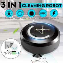 3 in 1 Smart Robot Vacuum Cleaner Automatic Sweeping Dust Cl