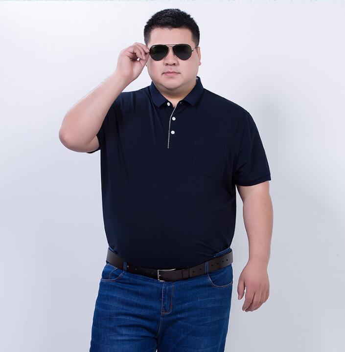 Summer T shirt men Fat guy Loose T shirt Big size 7XL-in T ...