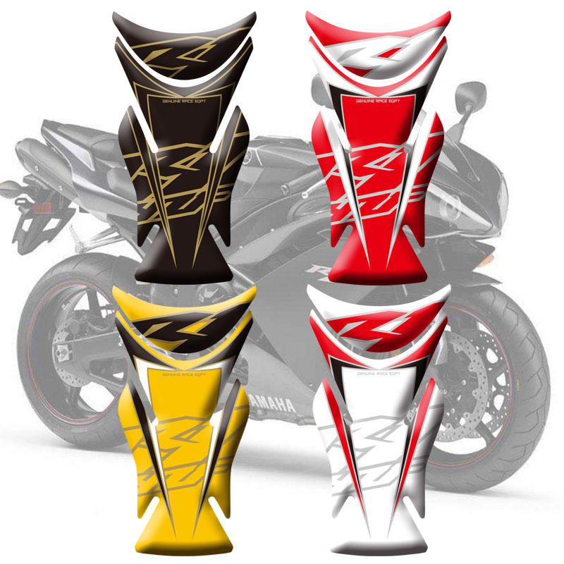 High Quality 3D Motorcycle Tank Pad Protector Decal Sticker Case Tankp Stickers For Yamaha R1 2007 2008