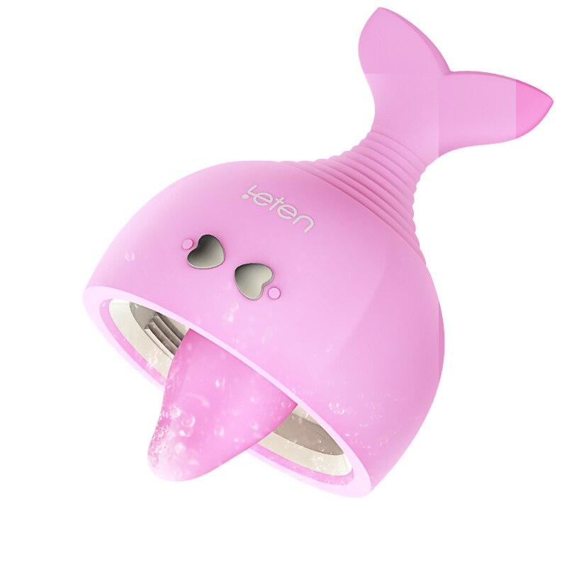 Langue lécher vibrateur mamelon ventouse vibrateur Vaginal stimulateur clitoridien Massage corporel Sex Shop adultes Sex Toys pour femmes
