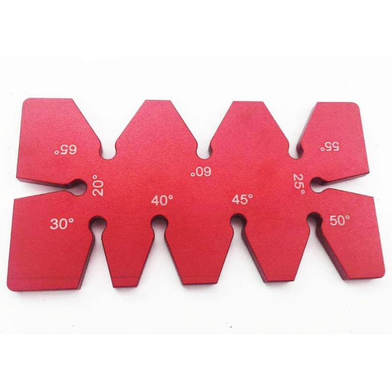 Aluminum Alloy Angle Gauge Device Carpentry Tools Woodworking Angle Rule DIY Woodworking Accessories