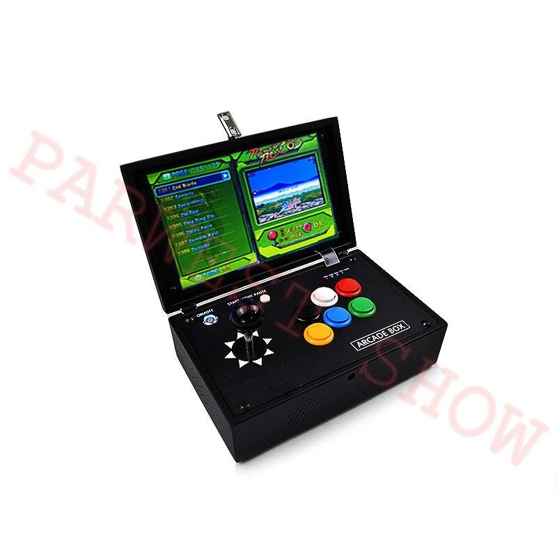 10 inch Box 6S arcade joystick machines video game console multi games 1388 in 1 DIY mini arcade game console - 3