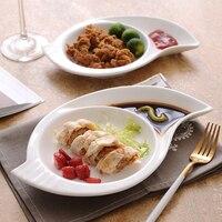 Unregelmäßige Form Keramik Teller Assorted Porzellan Box Off Dessert Teller Geschirr für Salat Kekse und Eis