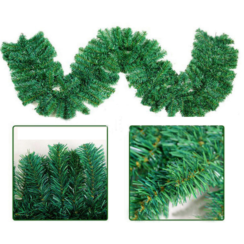 "NIB Trousseau Vintage Glitter Pine Garland 72/"" from Wayfair"
