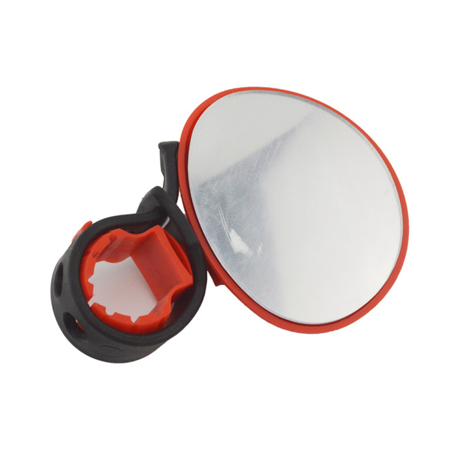 Bike Bicycle Cycling Universal Adjustable Mountain Reflection Mirror Handlebar Rearview Accessories Flexible Safety