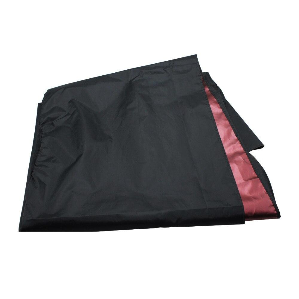 Black Waterproof Hair Cutting Viewing Window Gown Salon Barber Hair Cloth Tool