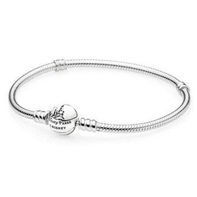 Fanier 100% 925 classique classique Bracelet Sterling de base femmes Standard bricolage bijoux en argent crépus présents magasins d'usine