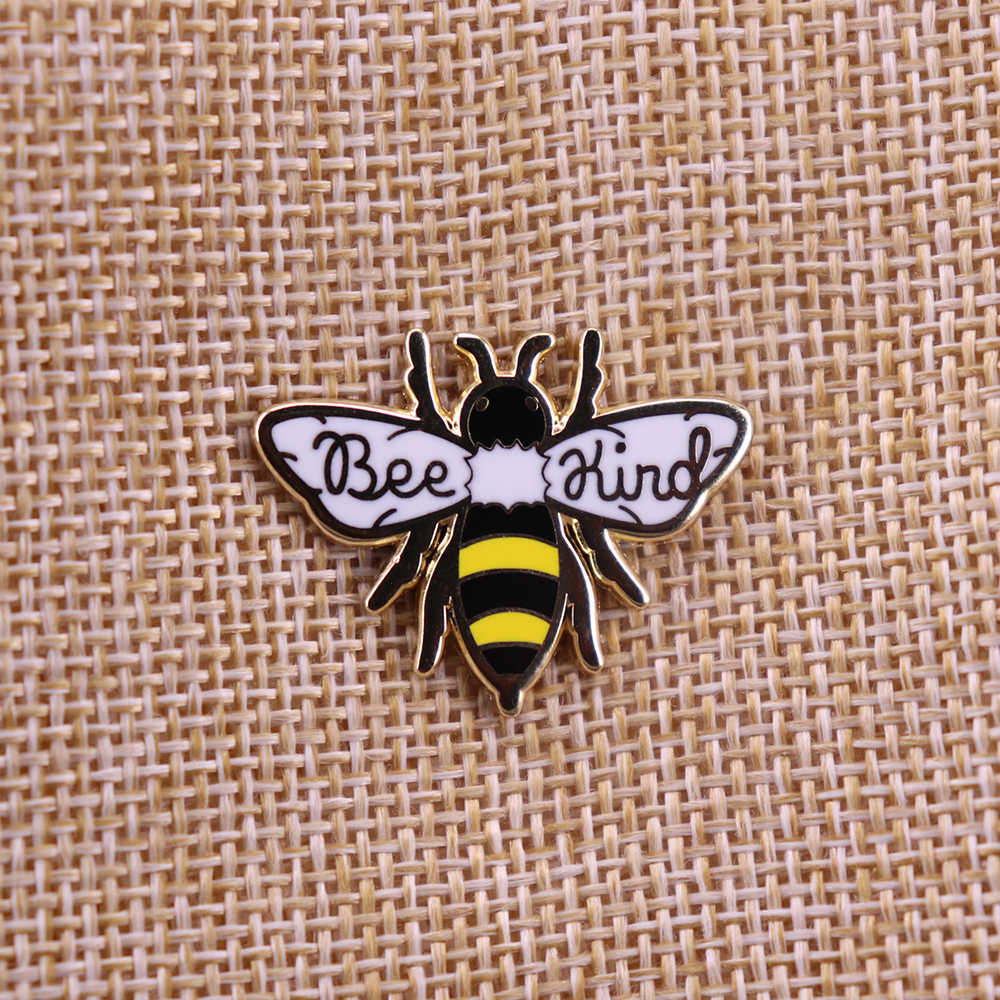 Bee Soort Emaille Broche Revers Pin Badge Metalen