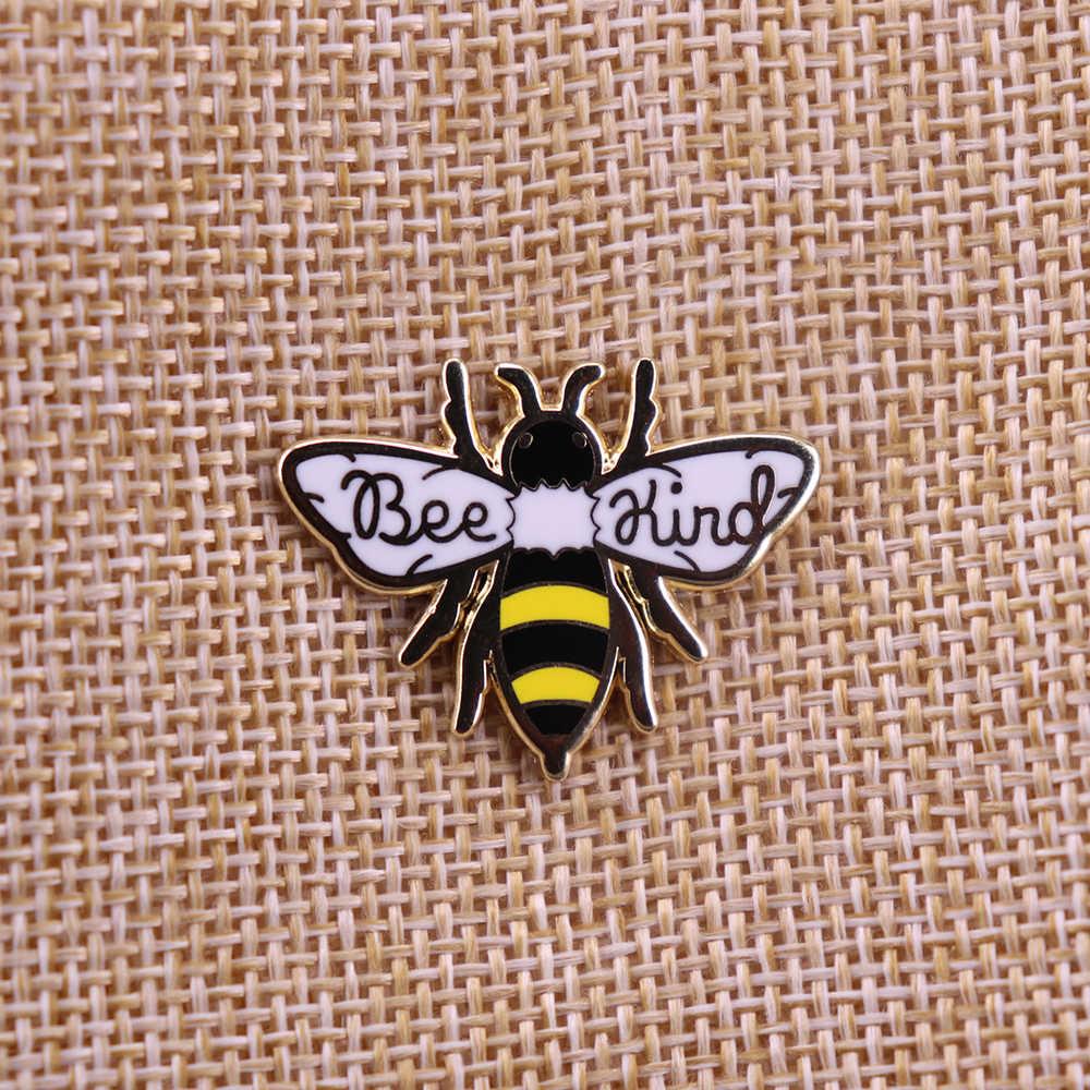 Bee Soort Emaille Broche Revers Pin Badge Metalen