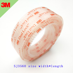 3M Dual Lock Reclosable Fastener SJ3560 Clear Mushroom Fastener adhesive tape Type 250 3M tape