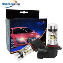 цена на 9006 HB4 LED Bulbs 1250LM Car Fog Light Driving Lamp Day Runnight Light Car Light Source 12V-24V 100W 6000K White B055