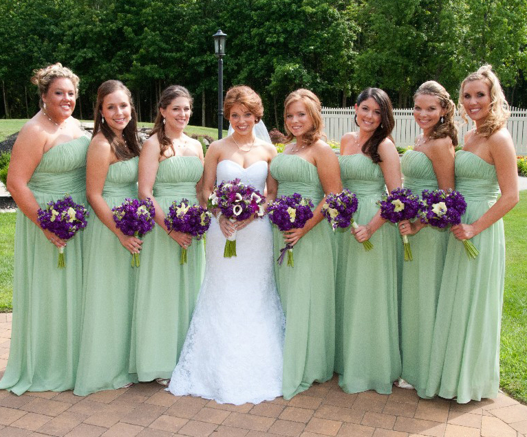Online Buy Wholesale mint green bridesmaids dresses from China ...