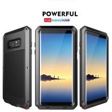 360 градусов полное покрытие тела лучший защитный чехол для телефона для samsung S8 plus note 8 S7 S7 edge резиновый край противоударный чехол