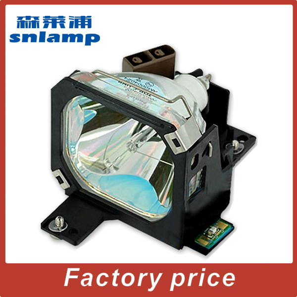 complete Projector lamp ELPLP05 V13H010L05 for EMP-7300 EMP-5300 Powerlite 7300 Powerlite 5300 EMP-7200 for elplp25 v13h010l25 projector lamp with housing for emp tw10 emp s1 powerlite s1 v11h128020 cp hs1000 cp s225