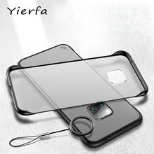Huawei Mate 20 Pro Case Frameless Matte Transparent Cover For Mate 20 Case Silicone Protective Bumper For Huawei Mate 20X Cases