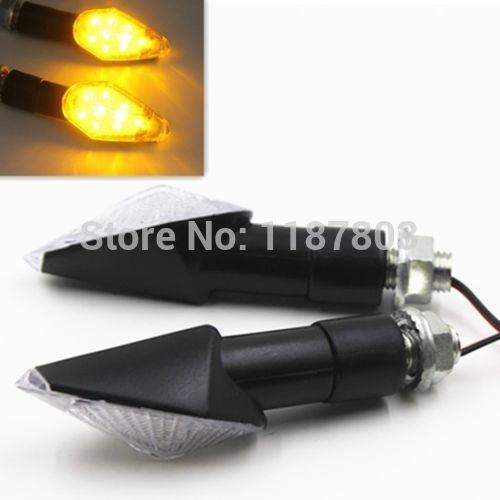 elite lighting group. plain lighting pair black led turn signal light blinker for honda elite 80 interceptor xr  100r 200r 250r lighting group y