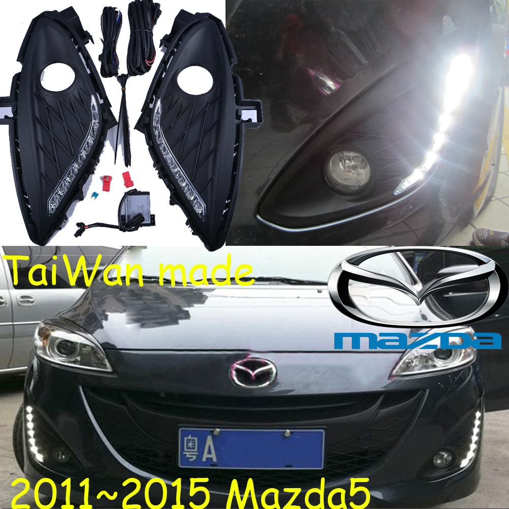 Car-styling,Masda5 daytime light,2011~2015,LED,Free ship!2pcs/set, Masda5 fog light;car-covers,mazd6 fog,CX-5,atenza,5 teana fog light 2pcs set led sylphy daytime light free ship livina fog light