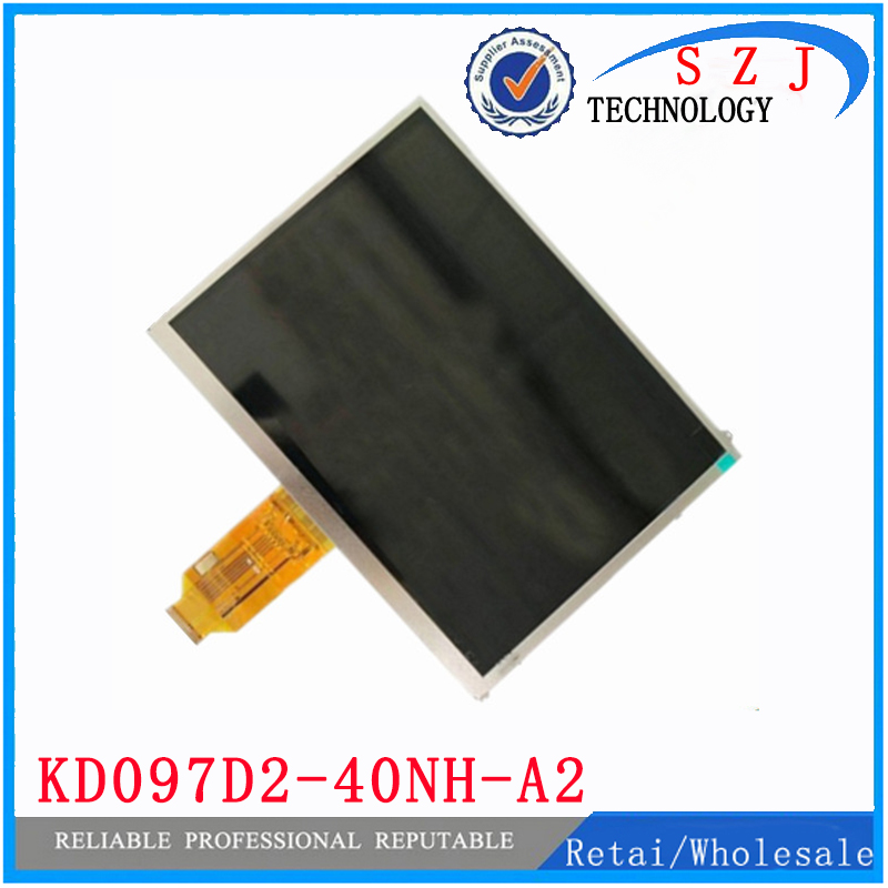 Original 9.7'' inch TFT 40pin LCD Display KD097D2-40NH-A2 V1 FPC KD097D2 Tablet pc LCD screen panel Free shipping black new original lcd display touch screen digitizer replacement assembly with tools for htc desire 500 free shipping