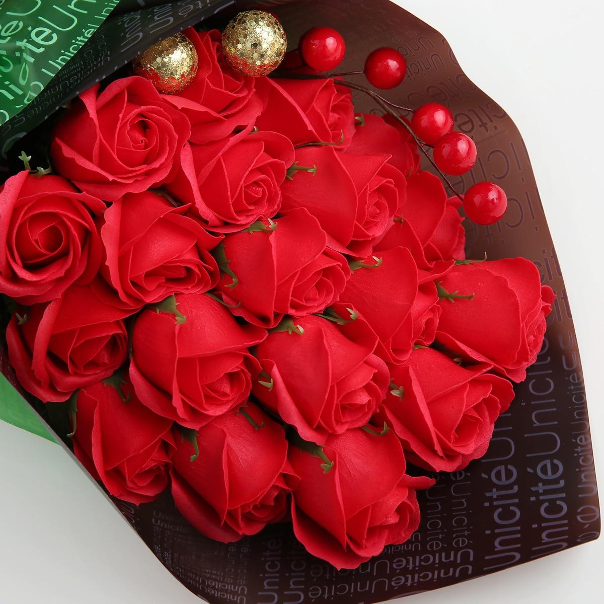 Soap flower teacher's Day gift teacher romantic girlfriend wife bestie practical Mid Autumn Festival Girl Birthday - 3