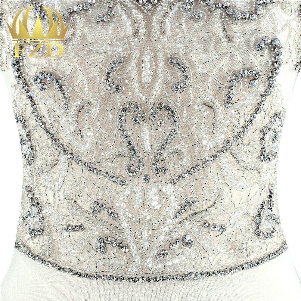 1 Set Luxury stone Beaded Crystal Rhinestone Applique Patches for Wedding  Dress DIY Bridal garment-in Rhinestones from Home   Garden on  Aliexpress.com ... 15798ee1f8ec
